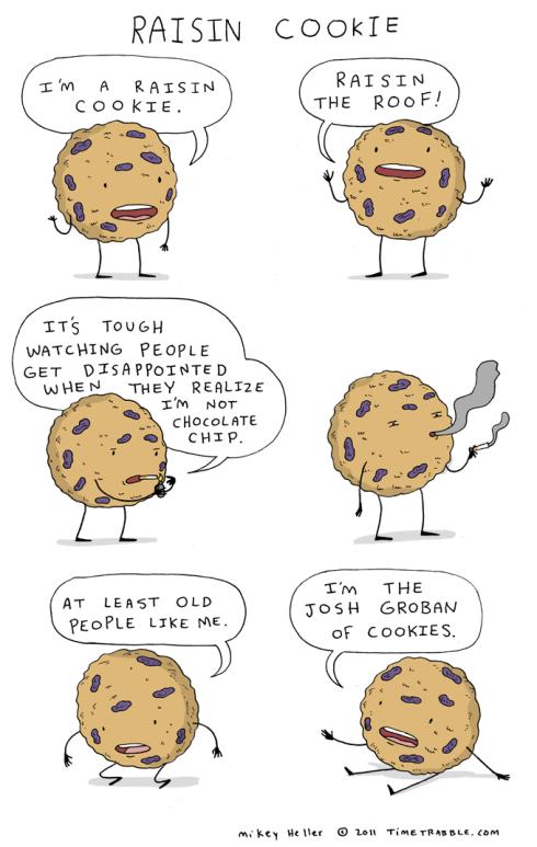 2011-07-06-Raisin-Cookie